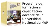 Libro: Programa de Formación y capacitación docente de la Universidad Nacional de Mar del Plata